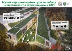На розбудову музею «Шевченківський гай» у Львові виділять 18 мільйонів гривень
