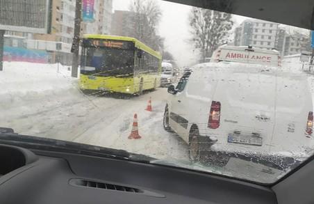 У Львові на вулиці Мазепи сталася ДТП