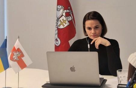 Лідерка білоруської опозиції Світлана Тихановська хоче зустрітися із Зеленським