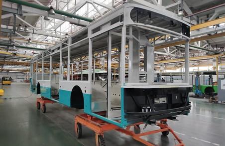 Автозавод у Луцьку почав виготовляти тролейбуси для міста Суми