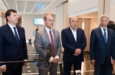 У ОПЗЖ намагаються «відмити» Медведчука і Козака від торгівлі із Росією і ОРДЛО