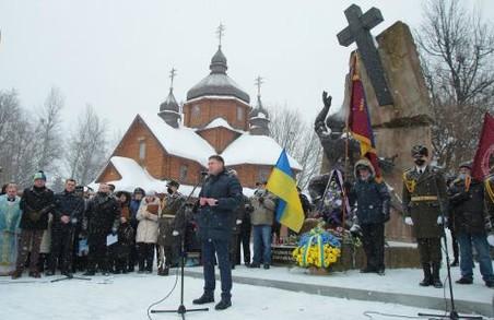 На Львівщині вшанували учасників бойових дій на території інших держав (ФОТО)