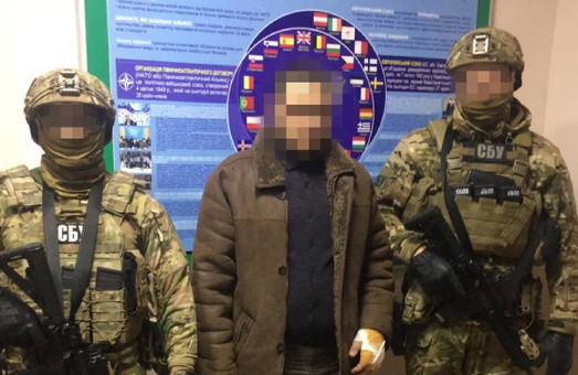 Українські контрозвідники затримали ватажка групи диверсантів «ЛНР»