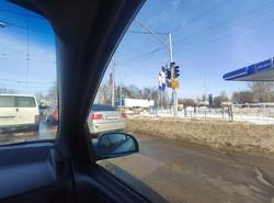 У Львові на перехресті вулиць Промислової і Липинського не працює світлофор
