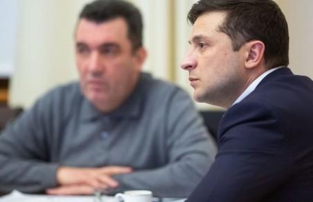Зеленський і Данілов обговорили план роботи РНБО на найближчий час