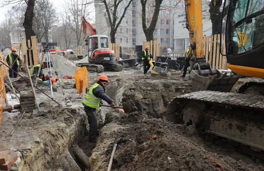 У Львові відновили ремонтні роботи на вулицях Богдана Хмельницького, Степана Бандери і Пекарській