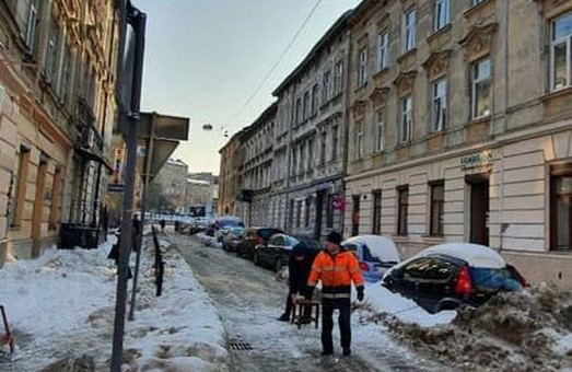 У Львові сьогодні зранку перекривали вулицю Медову