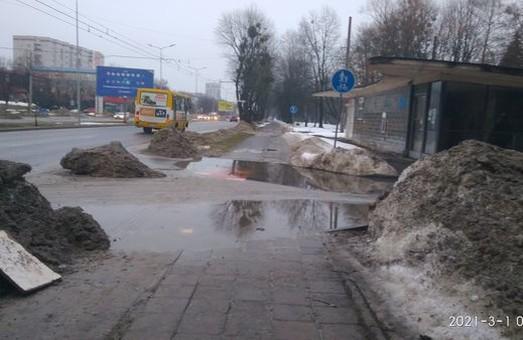 У Львові мешканці вулиці Наукової скаржаться на калабаню