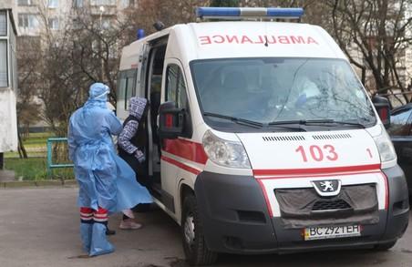 У понеділок 1 березня 2021 року на Львівщині виявили 349 нових випадків COVID-19