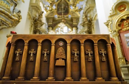 У Львові можна поклонитися мощам святого Шарбеля