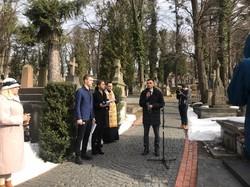 У Львові вшанували пам'ять українського композитора Володимира Івасюка