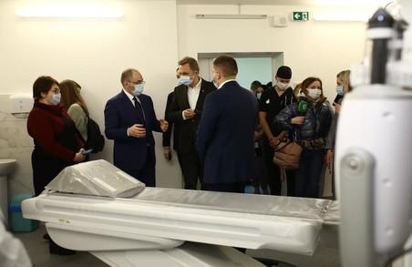 Максим Степанов у Львові відвідав лікарню швидкої медичної допомоги на вулиці Миколайчука