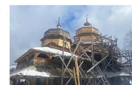 На Львівщині на реставрацію церкви XVII століття в селі Ісаї пропонують виділити мільйон гривень