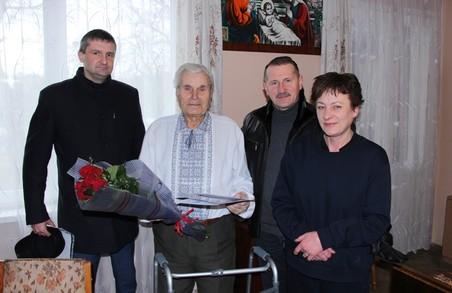На Львівщині станичний ОУН-УПА Тарас Куликовець святкує 90-літній ювілей