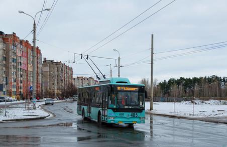 Чернігову вдалося придбати нові тролейбуси по ціні менше 5 мільйонів гривень за машину