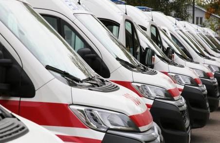 До кінця березня Львівщина отримає 50 сучасних карет швидкої медичної допомоги