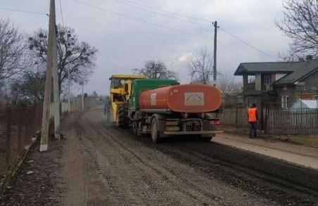 На Львівщині відновився ремонт автодороги Рава-Руська – Гайок