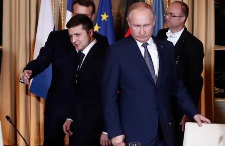 Путін не хоче розмовляти із Зеленським
