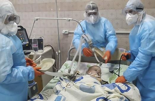 На Харківщині друга смерть дитини від COVID-19