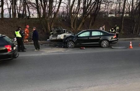 У Малехові біля Львова в ДТП постраждала дитина