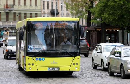 Відзавтра на трьох автобусних маршрутах збільшать кількість автобусів