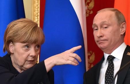 Путін говорив із Меркель про прямий діалог із ОРДЛО та оформлення правового статусу Донбасу