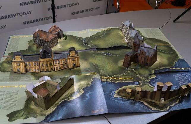 Ожила спадщина: на «Форумі видавців» у Львові презентують найтехнологічнішу в Україні книгу з 3D-ілюстраціями «Палаци і фортеці України»